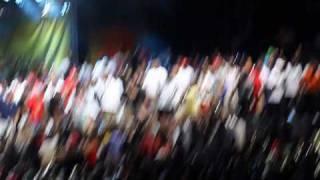 "DJ Khaled & Friends perform their hit ""I'm So Hood"" live@Hot 97 Summer Jam 2010"