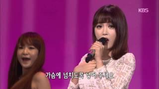[HIT] 가요무대 - 홍진영(Hong Jin Young) - 사랑의 배터리.20150316