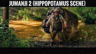 Jumanji 2 (Hippopotamus Scene)