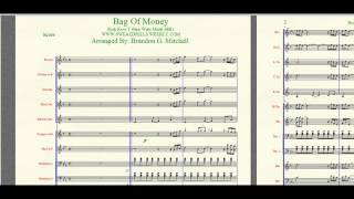 """""""Bag Of Money"""" Rick Ross/T-Pain arranged By: Brandon G. Mitchell for Marching/Concert Band"""