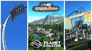 Planet Coaster: The Swarm - Thorpe Park (Recreation)