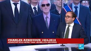 Charles Aznavour, an advocate for the Armenian cause