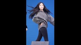 180223 여자친구 (GFRIEND) FINGERTIP(핑거팁) 사복 리허설 [신비] SinB 직캠 Fancam (평창 동계올림픽 '헤드라이너쇼' ) by Mera