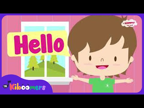 Hello Song | Hello Hello How Are You | Hello Song for Kids | The Kiboomers - YouTube