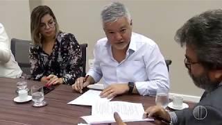 Bom Dia RN - Inter TV Cabugi fecha parceria para facilitar acesso da população ao sinal