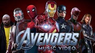 The Avengers: Earth's Mightiest Heroes (MCU Music Video)