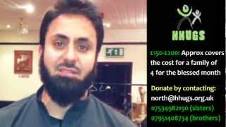 HHUGS 2012 - Hamza Tzortzis - Support an Iftar for your local HHUGS Family!
