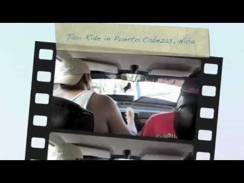 A taxi ride in Puerto Cabezas
