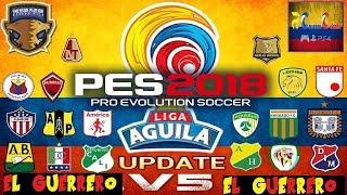 Option File Liga Colombia PS4 PES 2018