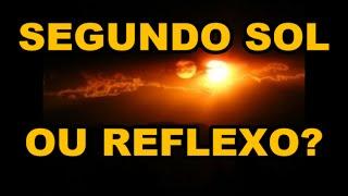 TERRA PLANA - NIBIRU, PLANETA X OU REFLEXO DO SOL NO DOMO?
