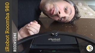 RECENSIONE i Robot Roomba 980 aspirapolvere SMART