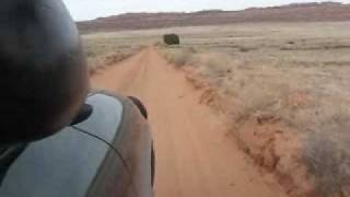 CAMINO DE ARENA EN EL DESIERTO/ Sand road in the desert