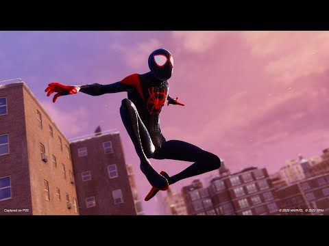 WTFF::: Miles\' Into the Spider-Verse Suit Revealed for Spider-Man: Miles Morales