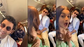 Alia Bhatt Cutely Make BF Ranbir Kapoor Blush As She Comments On His Dimples