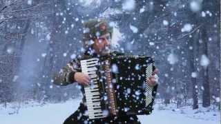 Russian accordion music Winter Yuri Petersburg - Jo Brunenberg - Acordeon Akkordeon fisarmonica