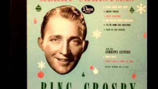 God Rest Ye Merry Gentlemen by Bing Crosby on 1942 Decca 78.