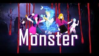 Just Dance 2018 Monster Remix By Meg & Mia