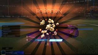 Rocket League FREE POPCORN BOOST