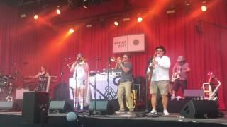 Fat Freddy's Drop at Sónar 2017 SOLO TRUMPET