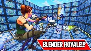*NEW* BLENDER ROYALE MINI GAME!!! (Fortnite Custom Games) width=