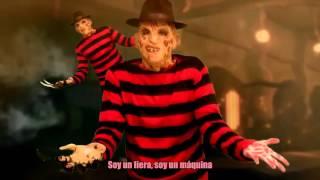 (Nightcore y letra)Freddy Krueger vs Jason Voorhees. Batalla de Rap (Especial Halloween)   Keyblade