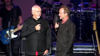 Peter Gabriel and Sting – WELCOME TO KARAOKE NIGHT - Nikon at Jones Beach Theater - 6/24/16