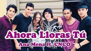 【洋楽和訳】Ana Mena - Ahora Lloras Tú ft. CNCO with Japanese translation