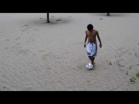 Sergio en la playa