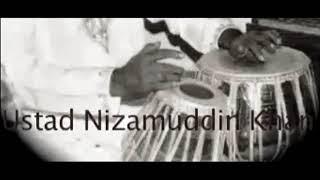 Ustad Nizamuddin Khan - Tabla solo - Rela