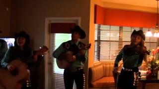 Marc Anthony - Vivir Mi Vida cover by Castillo Kids  Aug 1 2015 Kissimmee Fl