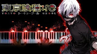 """[Tokyo Ghoul:re 2nd Season OP] """"Katharsis"""" - TK from Ling Tosite Sigure (Piano)"""