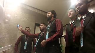 "Thriller "" I will Follow HIM""  Gema Chandra Cenderawasih Male Choir"