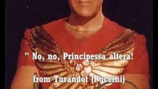 Franco Bonisolli at Turandot