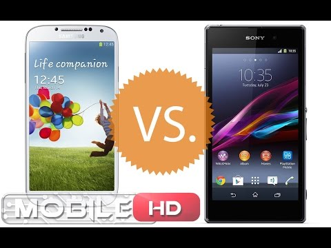 مقارنة XPERIA Z1 vs GALAXY S4