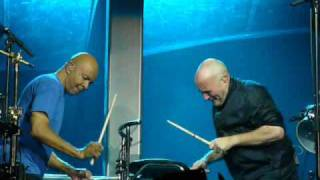Genesis - Duo Phil Collins & Chester Thompson - Parc des Princes Paris 30/06/2007