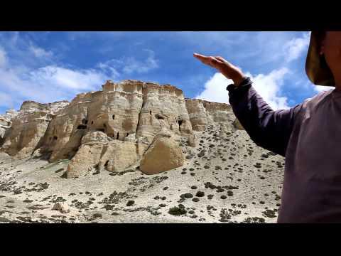 Rinzin explains caves