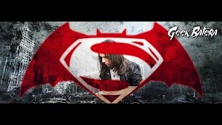 Batman V Superman -soundtrack-drum cover by Caio Gaona