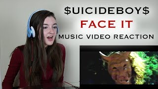 $UICIDEBOY$ - FACE IT (MUSIC VIDEO REACTION)