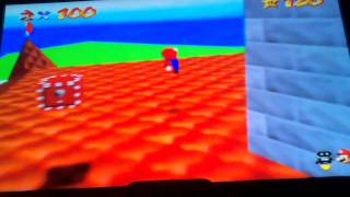 Super Mario 64 N64 New Triple Jump 120 Stars