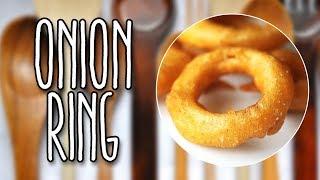 #89 - Anéis de cebola - Onion Ring - Receita de Mão