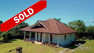 HOME FOR SALE JUST OUTSIDE OF BOQUETE PANAMA $139,000