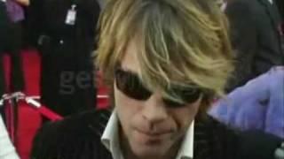 Jon Bon Jovi on AMA Red Carpet