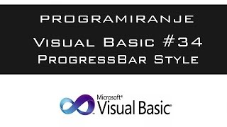 VISUAL BASIC | TUTORIAL #34 - ProgressBar Style [HD 2016]