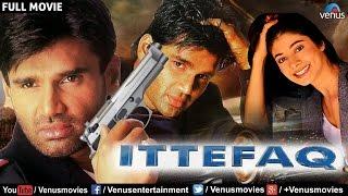 Ittefaq Full Movie   Bollywood Action Movies   Sunil Shetty Full Movies   Hindi Movies width=