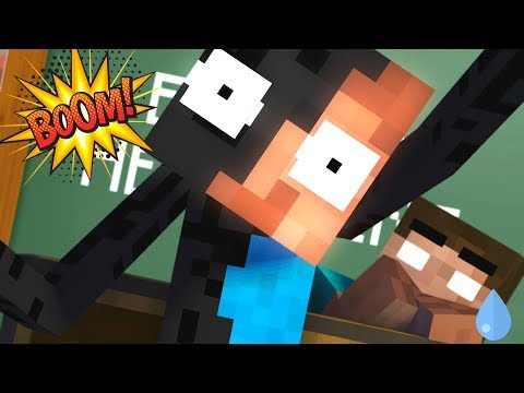 Download Video Monster School : BREWING ENDERMAN & HEROBRINE - Minecraft Animation