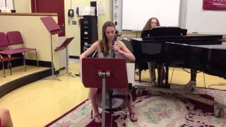 "Theme from ""Schindler's List"" - Kristina Schaberg, Cello"