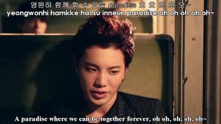 INFINITE (인피니트) - Paradise [Lyrics Color-Coded/Hangul/Romanized/English]