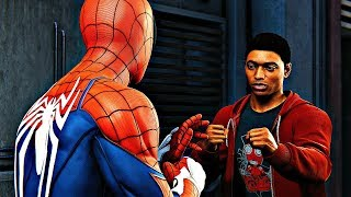 Spider-Man PS4 - Miles Meets Spider-Man & Punches Him
