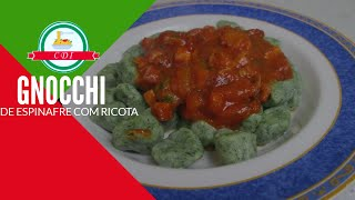 Como fazer gnocchi de espinafre com ricota em casa, facilmente - Culinaria direto da Italia