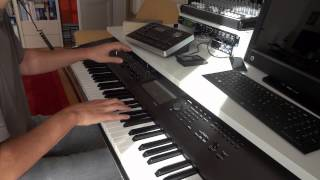 Adele Skyfall piano instrumental cover version live